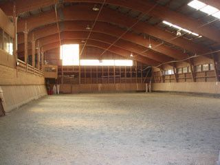Le man ge interieur for Manege interieur